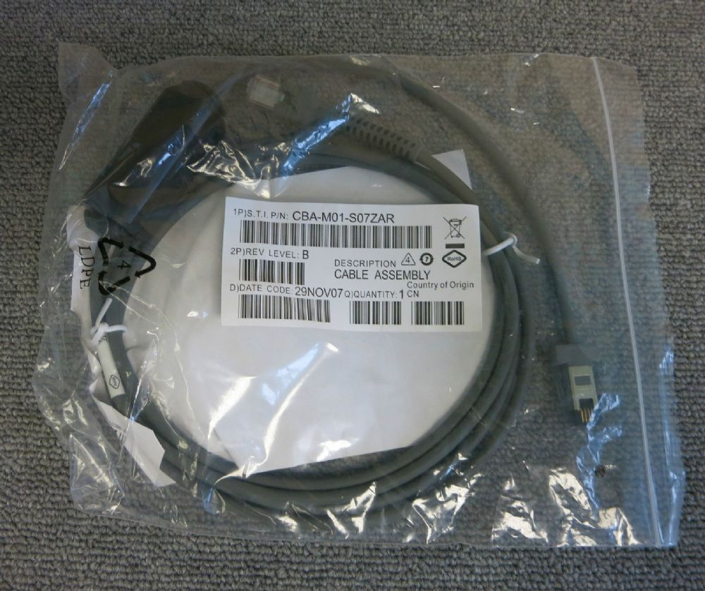 Symbol CBA-M01-S07ZAR 7ft Scanner IBM Data cable New